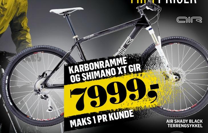 G sport sykkel